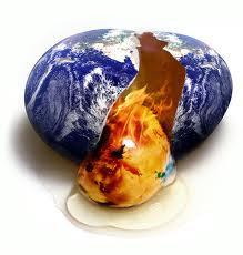 Climate change egg