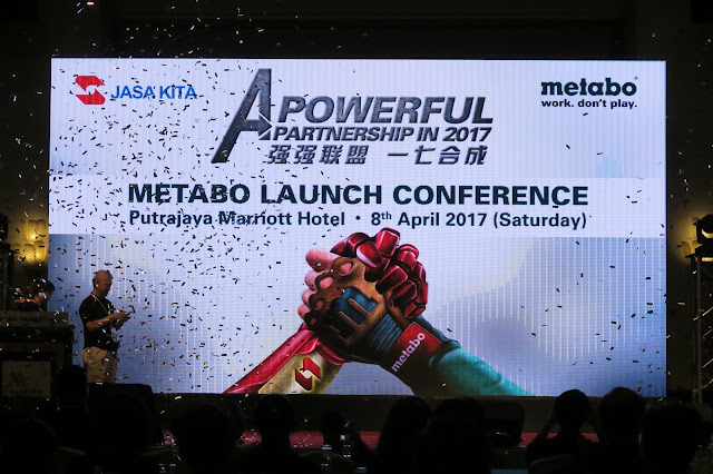 Jasa Kita Launched Metabo German Power Tools in Malaysia