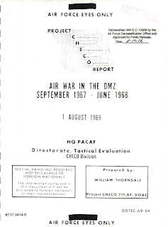 Project Checo Report - Air War in The DMZ 1967-1968 (8-1-1969)