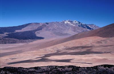 Cerro el Condor volcano