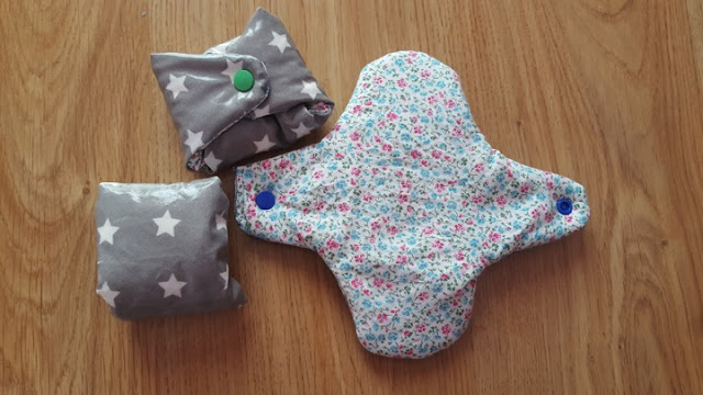 New DIY hygienic pads set
