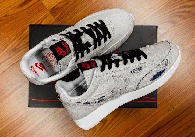 Nike lança tênis de Stranger Things com mensagens secretas reveladas apenas com fogo