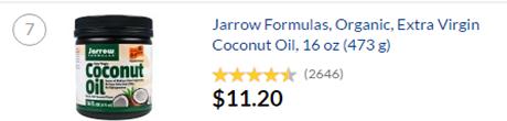 iherb有機椰子油