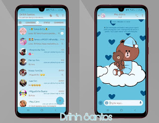 Teddy Bear 2 Theme For YOWhatsApp & Fouad WhatsApp By Driih Santos
