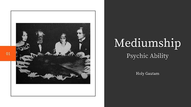 Mediumship Psychic Ability
