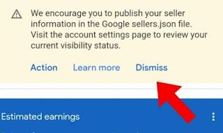 Solve Google Adsense Sellers json