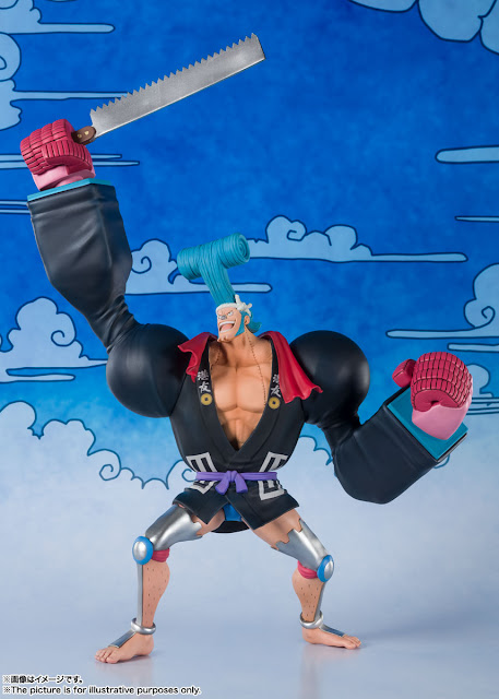 Figuarts ZERO Franky (Franosuke) de One Piece - Tamashii Nations
