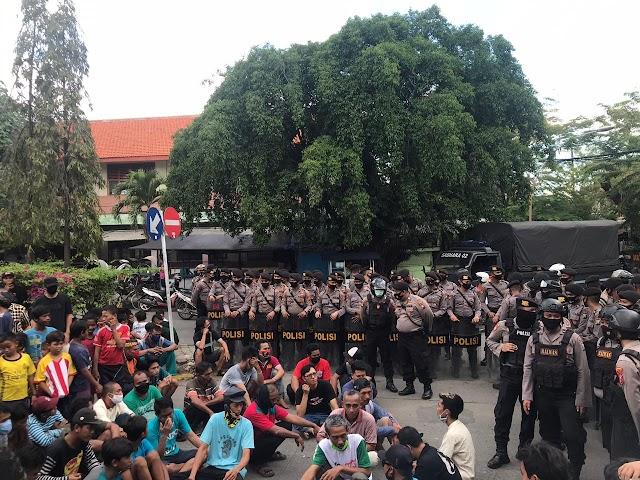 GJT Beroperasi Kembali, Polres Gresik 500 Personil Disiagakan