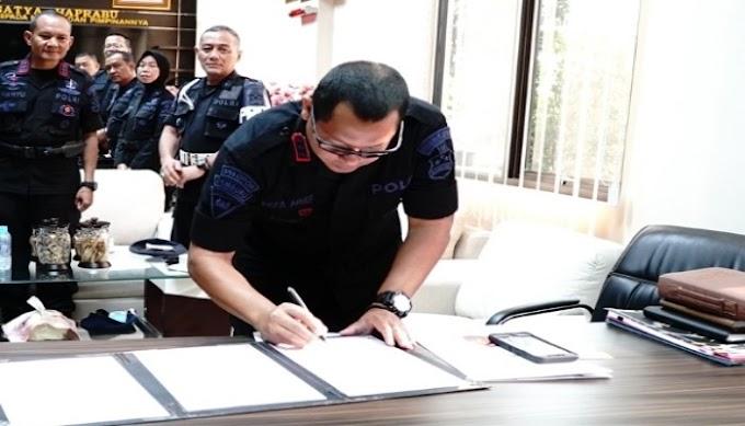 Jabatan Wakil Dan Paspelopor Korbrimob Polri Dikukuhkan