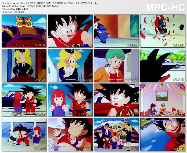 Descargar Dragon Ball La Seguridad Vial De Goku Mega y Mediafire