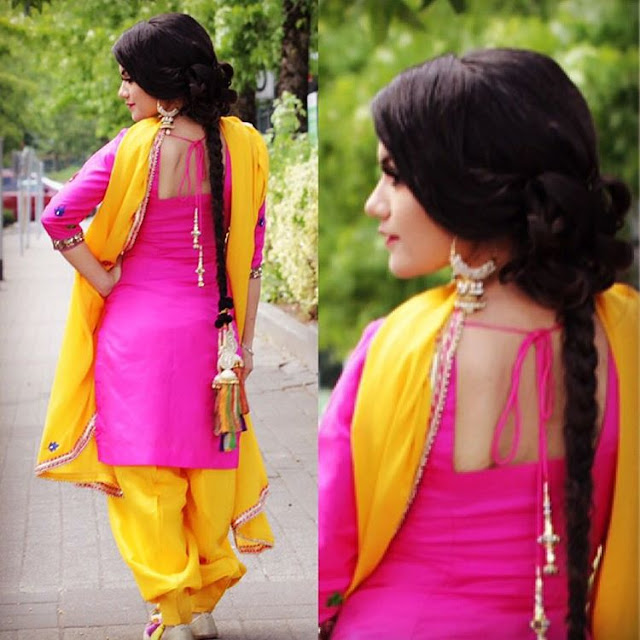 Beautiful Kaur B Wallpaper in pink Punjabi Suit - Photoshoot 2017 - picpile