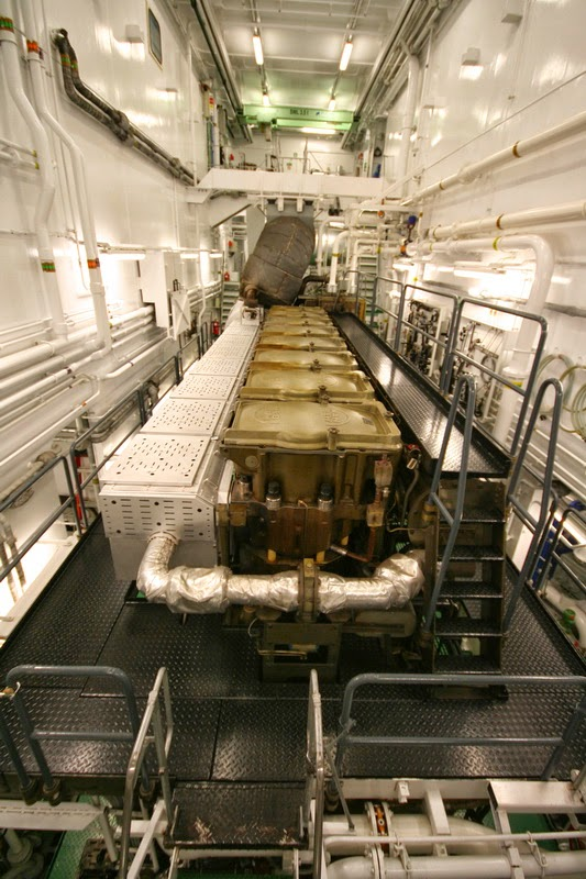 Cargo Ship Engine Room: Oceanex Takes Delivery Of Connaigra