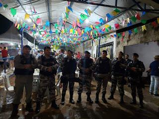 4º BPM realiza policiamento da Festa de Santo Antônio em Pirpirituba