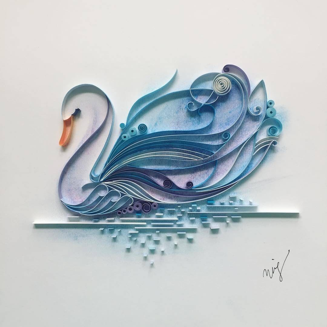 04-White-Swan-Wing-Paper-Quilling-Art-Designs-www-designstack-co