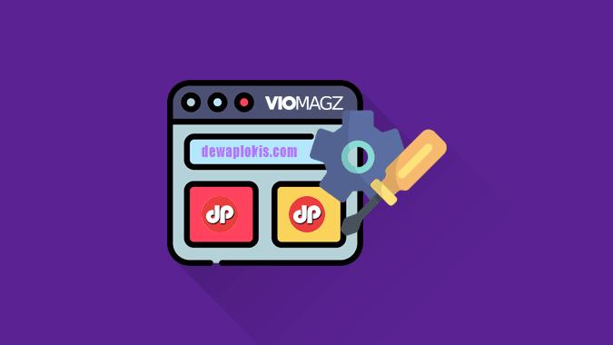 Panduan Setting Template VioMagz