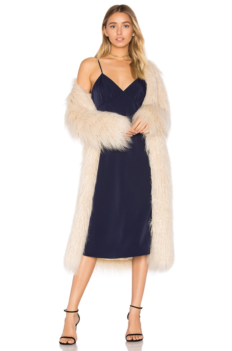 House of Harlow 1960 x REVOLVE Marisa Faux Fur Coat