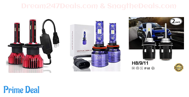 70% OFF LED Headlight Bulbs All in One Conversion Kit