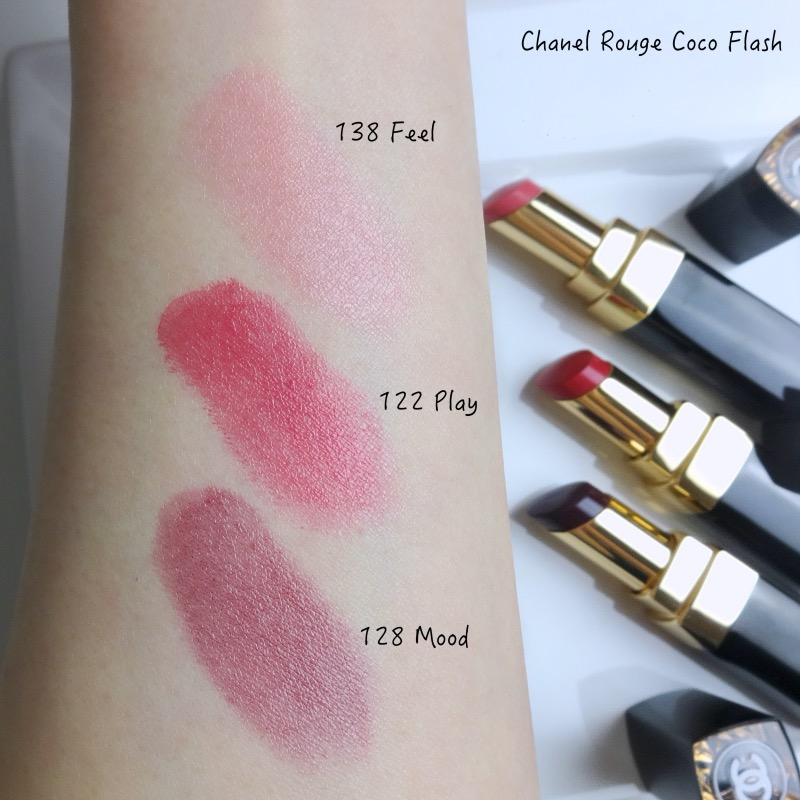 Chanel Rouge Coco Flash review swatches