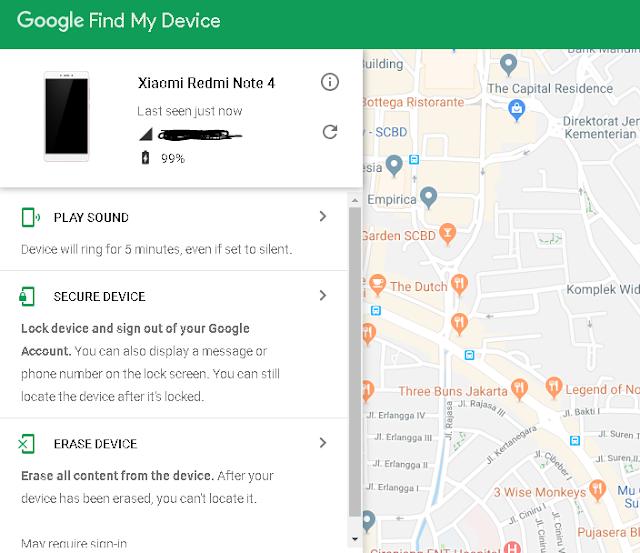 Tips dan Cara Mengamankan Handphone Android Agar Mudah Ditemukan Saat Hilang