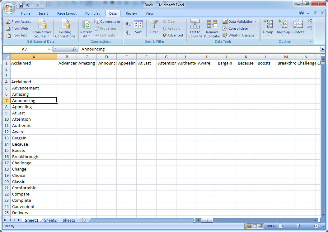How to Convert Comma Separated Text Into Rows with Excel