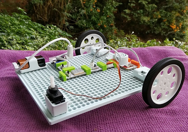 Littlebits Infinite Rover Inventor Kit Remote Controlled Robot!