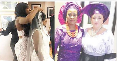 Female Nigerian marries lesbian partner in US