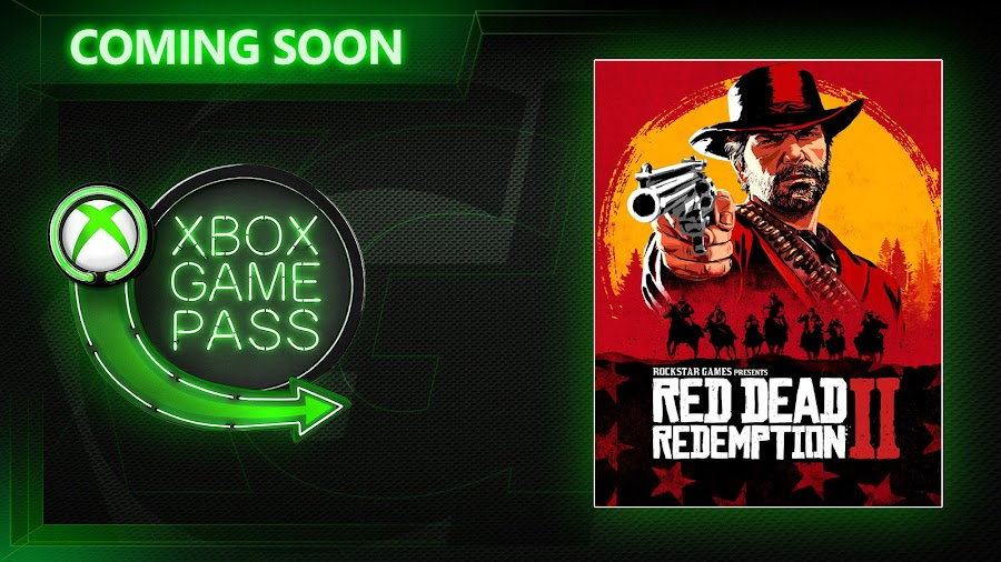 xbox game pass red dead redemption 2 game xb1 2020 rockstar games