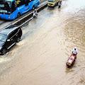 Polda Metro Jaya: 35 Titik Jalan di Jakarta Rusak Akibat Banjir