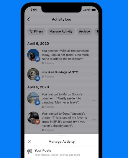 طريقة حذف منشورات الفيسبوك القديمة دفعة واحدة 2020