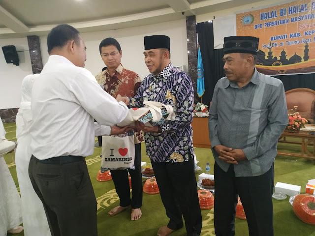 Wakil Bupati Kep. Selayar, Hadiri Halal Bihalal PERMAS Kaltim