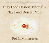 Clay Food Dessert Tutorial + Mold For Desserts!