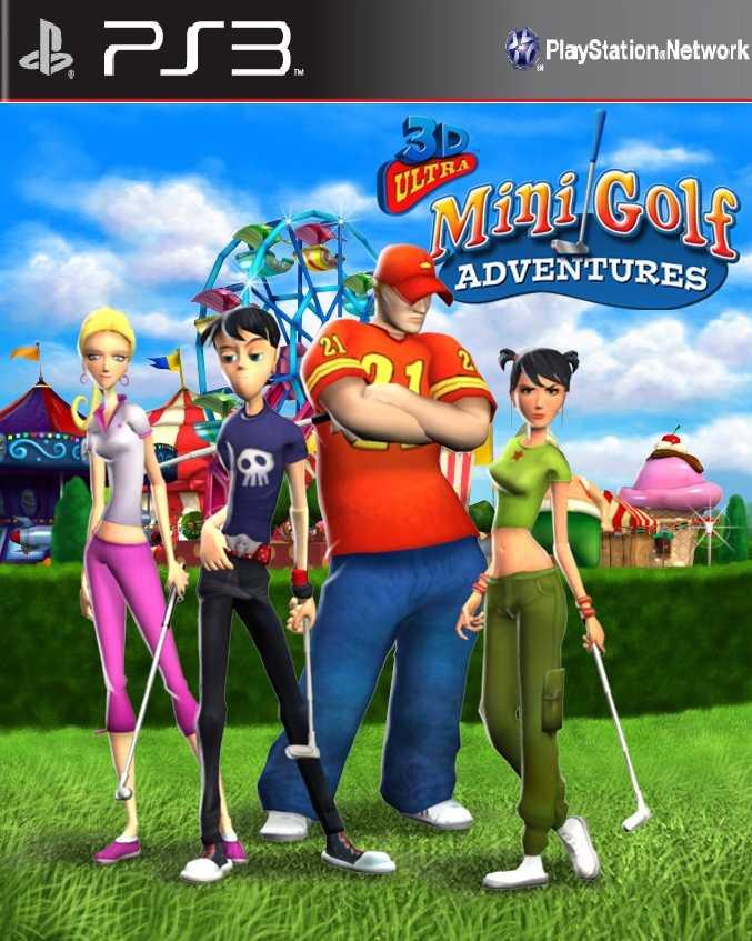 3D Ultra Minigolf Adventures 2 PSN Ps3 Iso