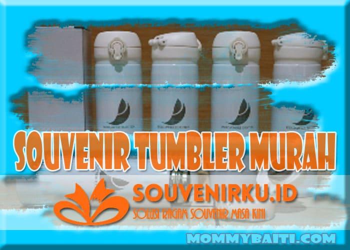 souvenir tumbler murah, beli aja di SouvenirKu.ID