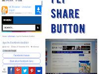 Membuat Tombol Share Melayang Untuk Blog Atau Website [Panduan Lengkap]