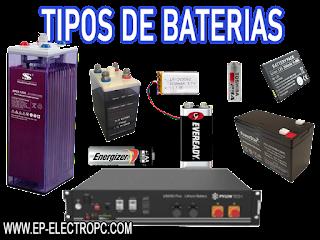 Tipo de batería y funcionamiento general