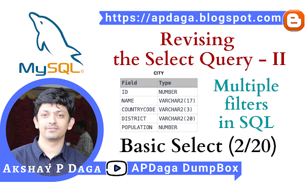 HackerRank: [Basic Select - 2/20] Revising the Select Query - II | Multiple Filters in SQL