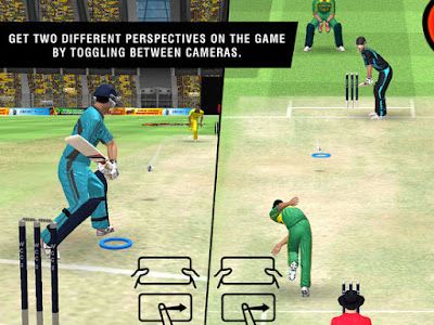 World Cricket Championship 2 camera