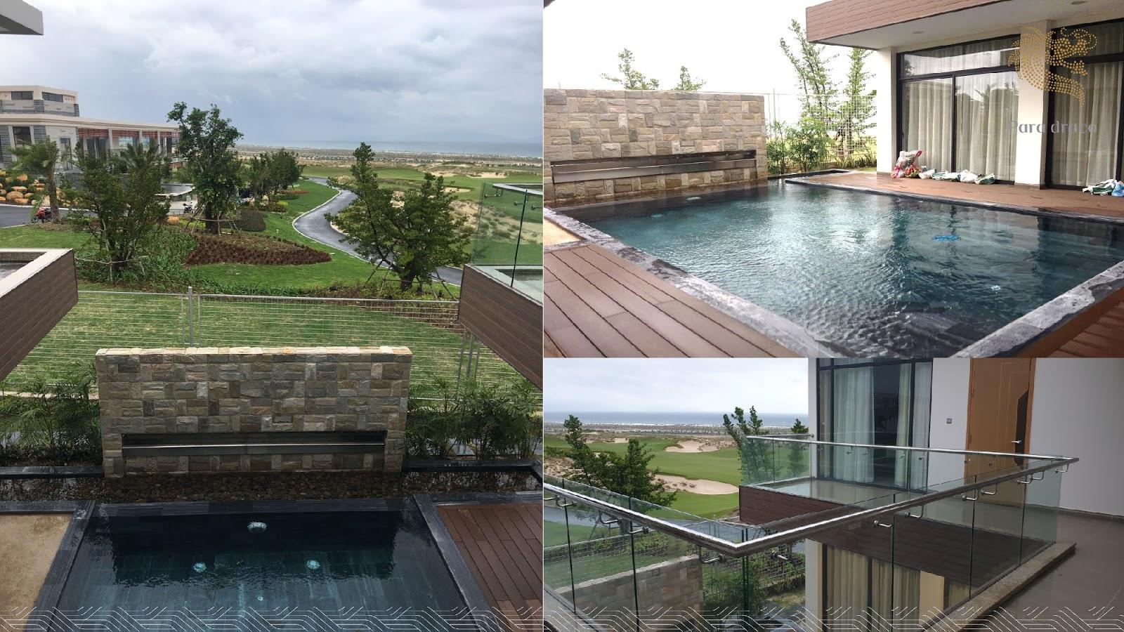 Bể bơi biệt thự Para Draco
