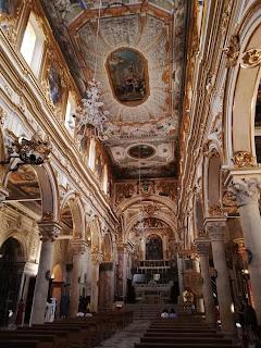 L'interno del Duomo di Matera