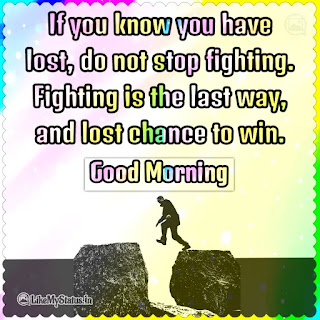 Good Morning Motivation Quote Image