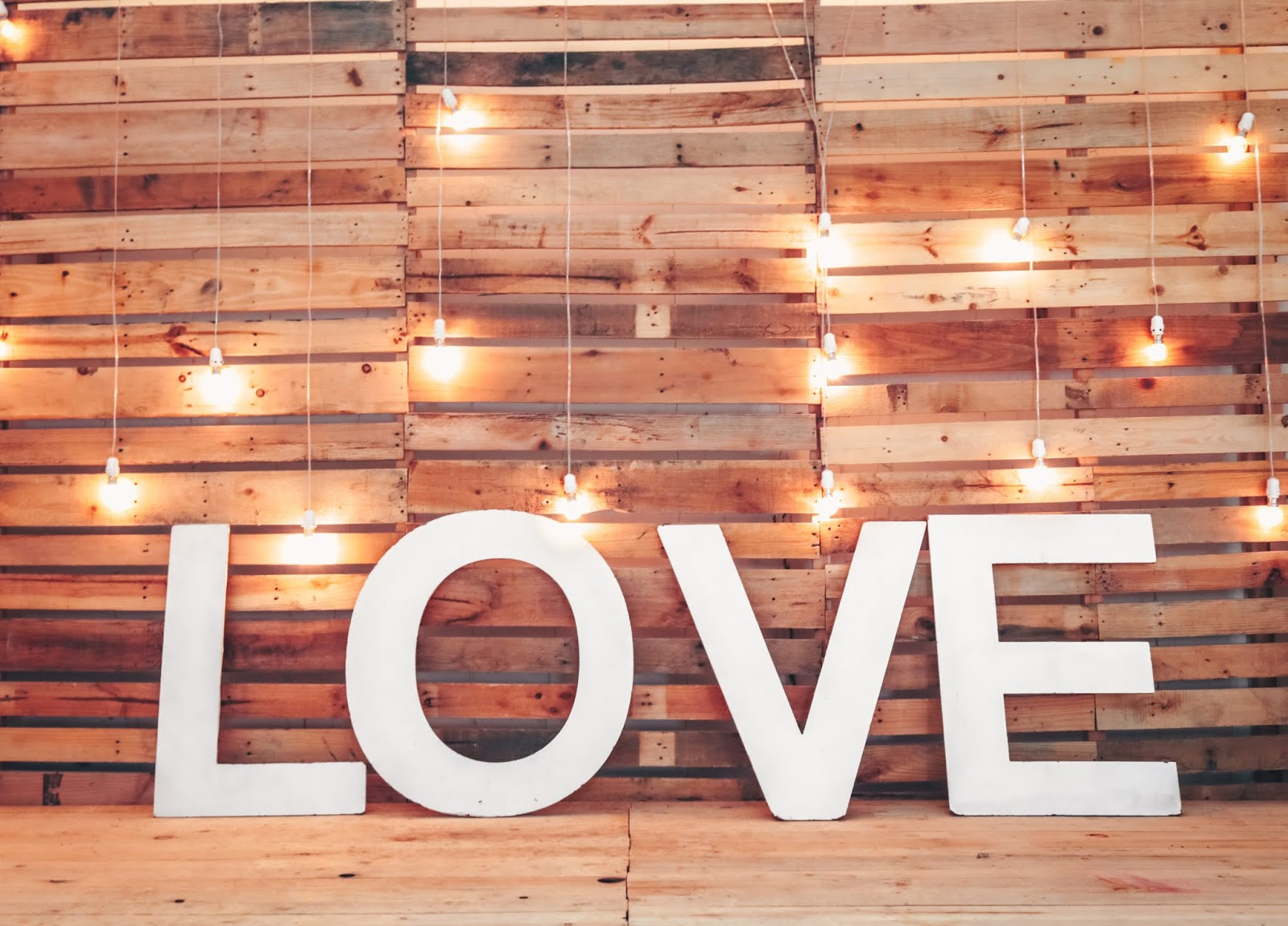 white love free standing letter, love images