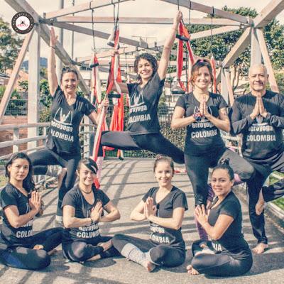 certificación yoga aéreo