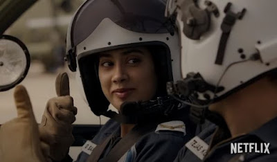 Gunjan Saxena: The Kargil Girl movie trailer