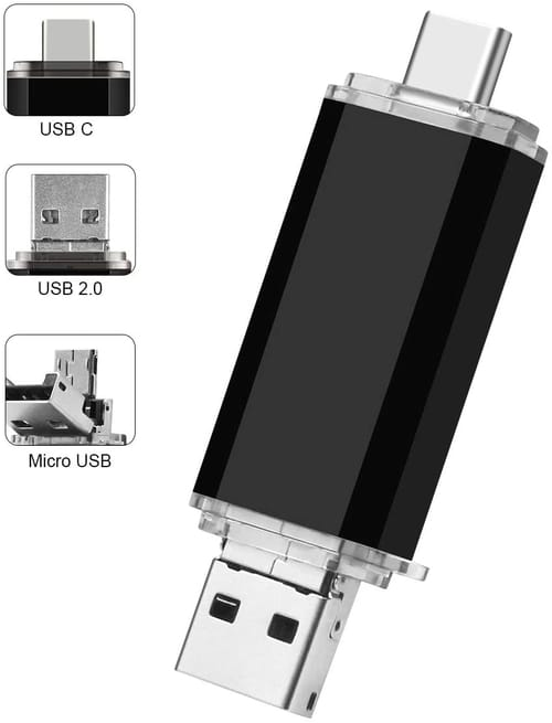 Review SUPERDUODUO USB Flash Drive 3IN1 Thumb Drives