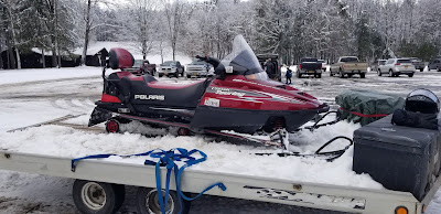 snowmobiling at Letchworth State Park