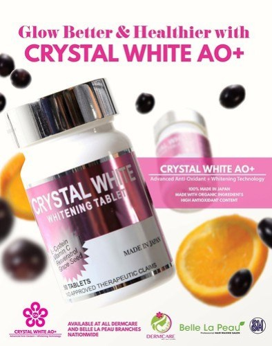 The secret to a glow that makes everyone blush is Crystal White AO+