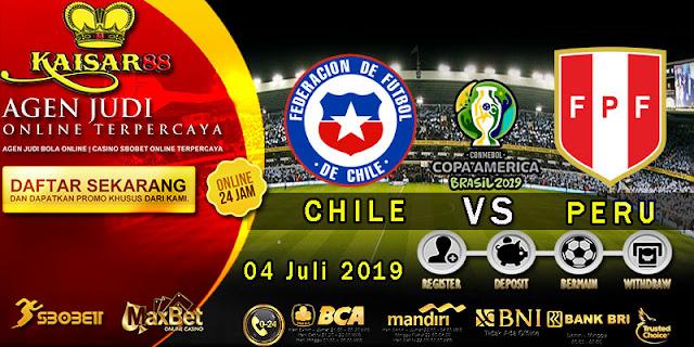 Prediksi Bola Terpercaya Liga Copa America Chile vs Peru 04 Juli 2019