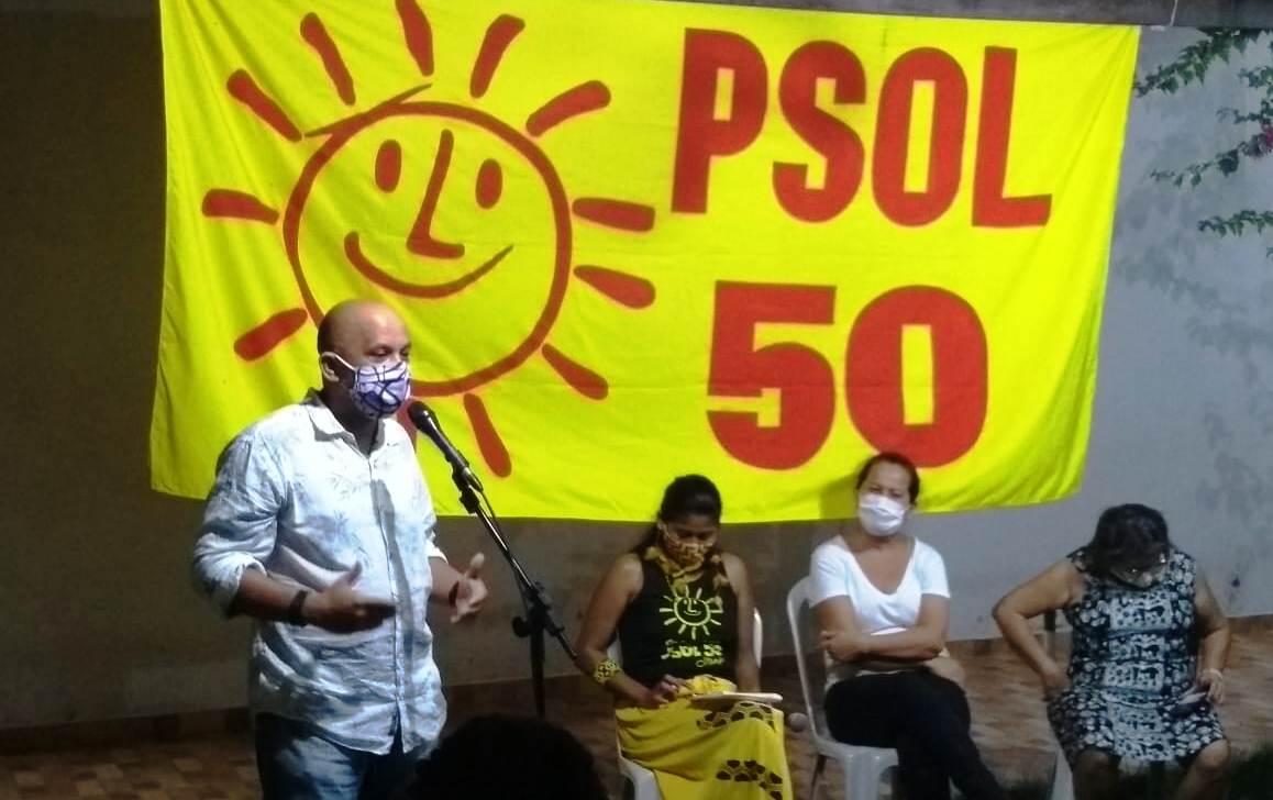 PSOL desiste de candidatura a prefeito e libera militância para apoiar quem quiser