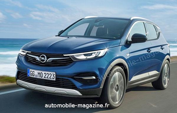 Burlappcar 2019 Opel Mokka X 2020 Buick Encore
