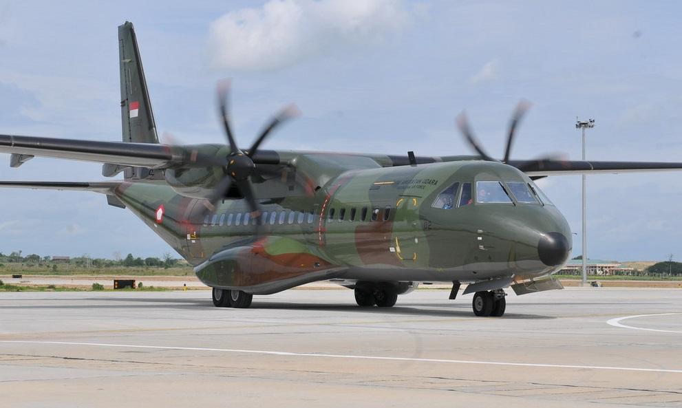 Pesawat Angkut Sedang CN-295 Tambah Kekuatan Skadron Udara 2 Lanud Halim Perdanakusuma